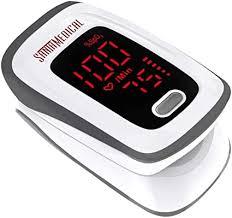 Fingertip Pulse Oximeter, Blood Oxygen Saturation ... - Amazon.com