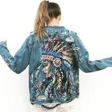 Antique lace and jewelled design denim <b>jacket</b> в 2019 г. | Блузки ...