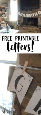 top ideas about printable letters printable printable letter banners you can print the entire alphabet for