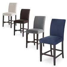 beige linen counter stools set  masteranse