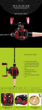 <b>Tsurinoya</b> Magnetic Brake XF-50 10BB Gear Ratio 6.6:1 Baitcasting ...