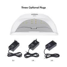 Abody SUN X 40W/54W/<b>80W UV Lamp</b> LED Ice Lamps Nail <b>Gel</b> ...