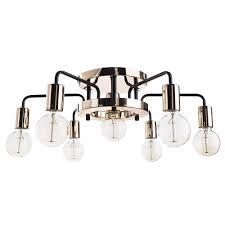 <b>Потолочная люстра Arte</b> Lamp Gelo A6001PL-7BK - купить в ...