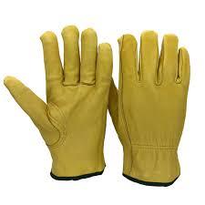 <b>Safety Work</b> Gloves Sheepskin Leather Men <b>Working</b> Welding ...