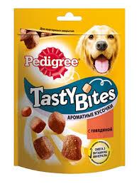 Pedigree лакомство для <b>взрослых собак</b> Pedigree <b>Tasty</b> Bites ...