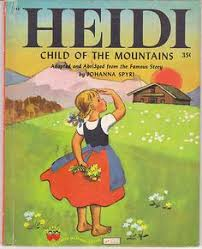 Image result for heidi book cover 1940