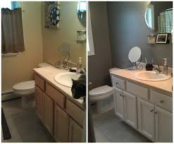 how to paint a small bathroom what paint to use on bathroom cabinets
