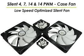 <b>Gelid</b> представляет новые <b>вентиляторы Silent 4</b>, 7, 14 и 14-PWM ...