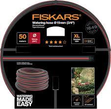 """<b>Шланг</b> поливочный <b>Fiskars</b>, 1027111, черный, оранжевый, <b>3/4</b>"""", 50 м"""