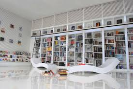 ladder d c3 a3 c2 a9cor ideas interior design i j c white bookcase in modern home living awesome home library design
