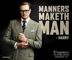 Colin Firth as Galahad in Kingsman: The Secret Service. Very ... via Relatably.com
