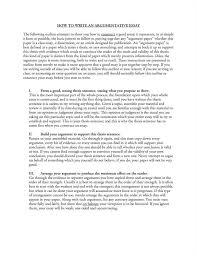 arguing essay