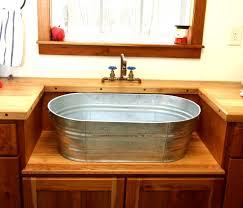 trough sink bathroom v