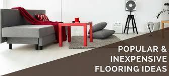 Cheap Flooring Ideas: 5 Inexpensive & Popular DIY Options in 2020