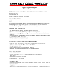 construction foreman resume template cipanewsletter resume for construction a href quot helper tcdhalls com sample