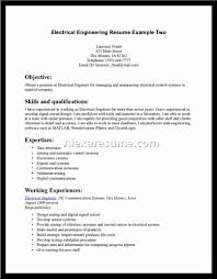 electrical engineering resume s engineering lewesmr