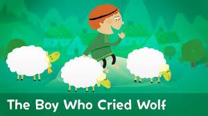 Resultado de imagem para the boy who cried wolf