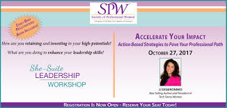 society of professional women she suite websie banner