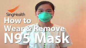 <b>N95</b> 3M <b>mask</b>: How to Wear and Remove - YouTube