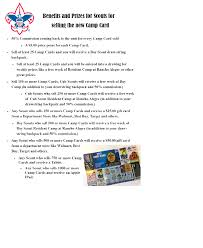 los padres council homepage camp card prizes