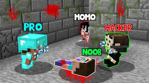 Minecraft Battle: <b>SCARY MOMO</b> BABY CHALLENGE! NOOB vs PRO ...