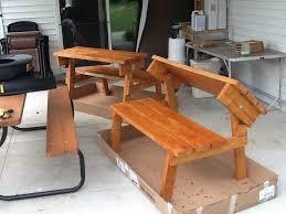 wood cedar picnic table and bench plans pdf plans cedar bench plans