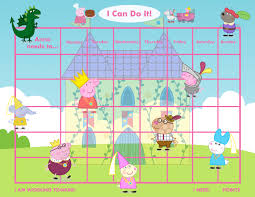 princess potty chart personalized children s reward chart playful pig 2 versions printable diy