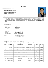 resume format free download  socialsci coresume