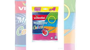 <b>Салфетки</b> из микрофибры <b>Vileda Colors</b> купить в Москве ...