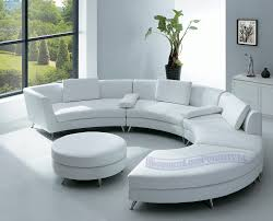 White Chairs For Living Room Room Furniture With Elegant Half Circle Sofa Home Interior Designs