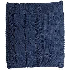 <b>Подушка Stille</b>, синяя купить с нанесением логотипа оптом на ...