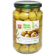 Купить <b>Оливки</b> зеленые <b>Belle France без</b> косточки стекло, 0.160 кг