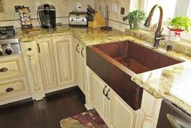 hammered copper kitchen sink:  picture of quot copper farmhouse sink single well farmhouse copper sink