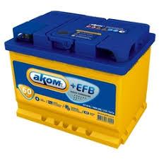«Аккумулятор <b>АКОМ</b> +<b>EFB</b> 60 А/ч обратная R+ EN 560A ...
