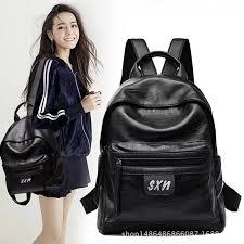 Fashion <b>New Travel Backpack Korean</b> Women Female Rucksack ...