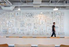 airbnb airbnb cool office design train tracks