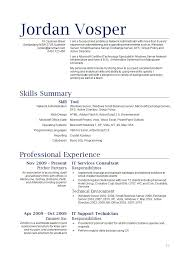 resume qualifications summary resume qualifications summary 2731
