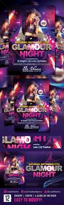 glamour night flyer template by louistwelve design graphicriver glamour night flyer template clubs parties events