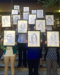 leadership development coaching apricot consulting graduates of a recent leadership program we delivered proudly show off their caricature portraits