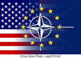 Image result for NATO-EU FLAG