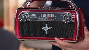 <b>ION Audio</b> Ford <b>Mustang</b> Portable Bluetooth Retro <b>Stereo</b> on QVC ...