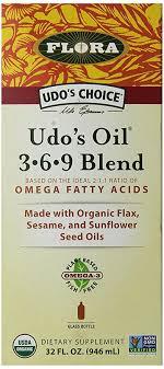 Flora <b>Udo's Oil 3-6-9</b> Blend, 32 fl.oz: Amazon.in: Health & Personal ...