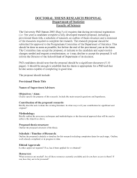 How to write a social work dissertation proposal