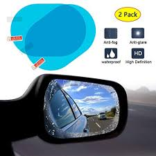 MOOKLIN <b>2 Pieces Car Rear View</b> Mirror Protective Film, HD Anti ...