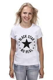 Футболка <b>классическая Black</b> star #1954880 – заказать женские ...