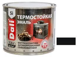 Купить <b>Эмаль термостойкая Dali</b> черная 0,4 л с доставкой в ...