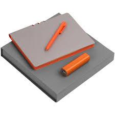 Набор <b>Flexpen</b> Energy, <b>серебристо</b>-<b>оранжевый</b> (артикул ...
