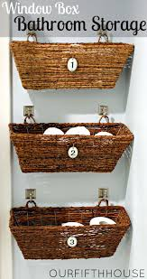 storage bathroom window box bathroom storage perfect for a small bathroom