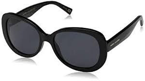 <b>Marc</b> Jacobs <b>Women's</b> Marc261s <b>Polarized</b> Oval <b>Sunglasses</b>, BK ...