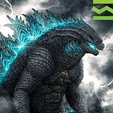 Discover the best <b>Godzilla</b> fan <b>art</b> - Yes I'm a Designer